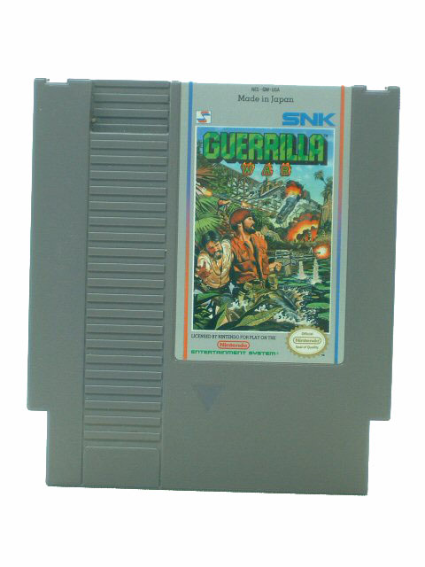 NES Guerrilla War - 1989