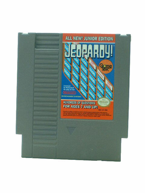 NES Jeopardy! Junior Edition - 1989