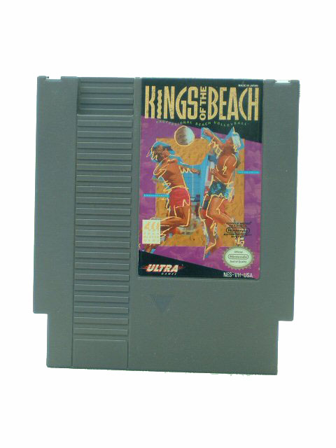 NES Kings of the Beach - 1990