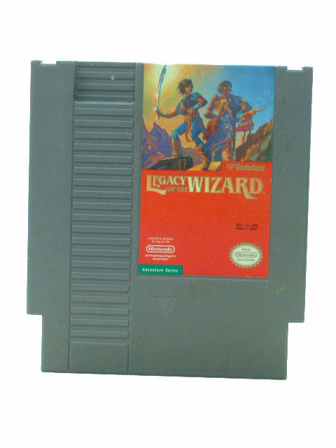 NES Legacy of the Wizard - 1989