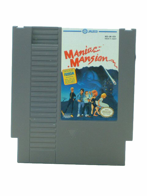 NES Maniac Mansion - 1990