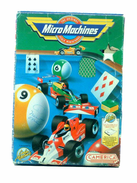 NES Micro Machines Complete with Box - 1991