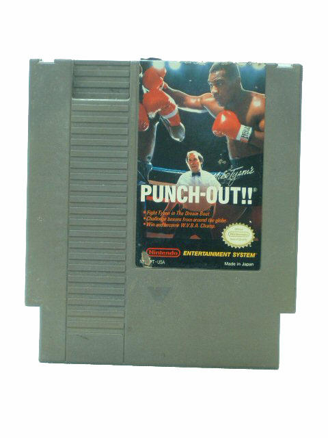 NES Mike Tyson's Punchout!! - 1987
