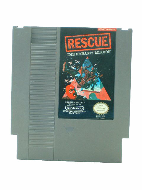NES Rescue: The Embassy Mission - 1988
