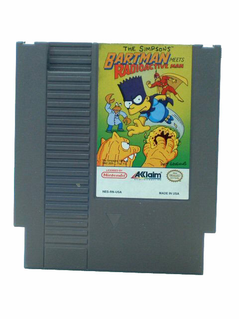 NES Simpsons: Bartman Meets Radioactive Man - 1992