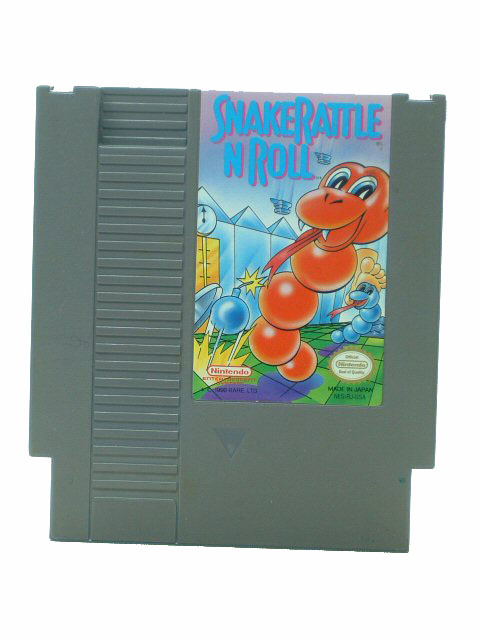 NES Snake 'N' Rattle Roll - 1991