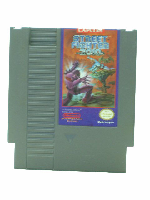NES Street Fighter 2010: The Final Fight - 1990