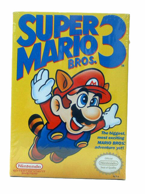 NES Super Mario Bros. 3 Sealed NEW - 1990