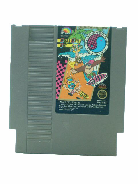 NES T & C Surf Designs: Wood & Water Rage - 1987