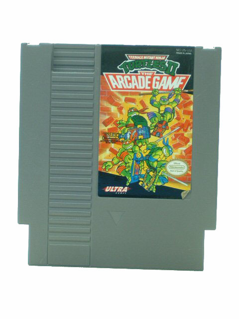 NES Teenage Mutant Ninja Turtles II: The Arcade Game - 1990