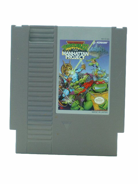 NES Teenage Mutant Ninja Turtles III: Manhattan Project - 1992