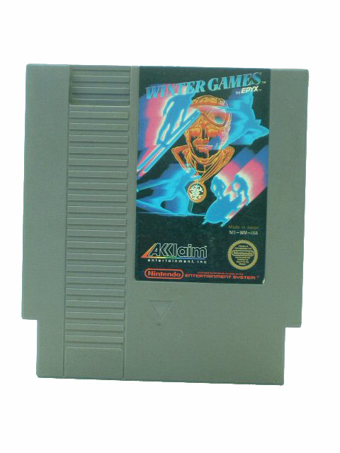 NES Winter Games Epyx - 1985