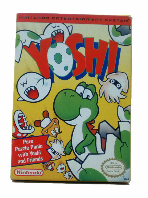 NES Yoshi Complete with Box - 1992