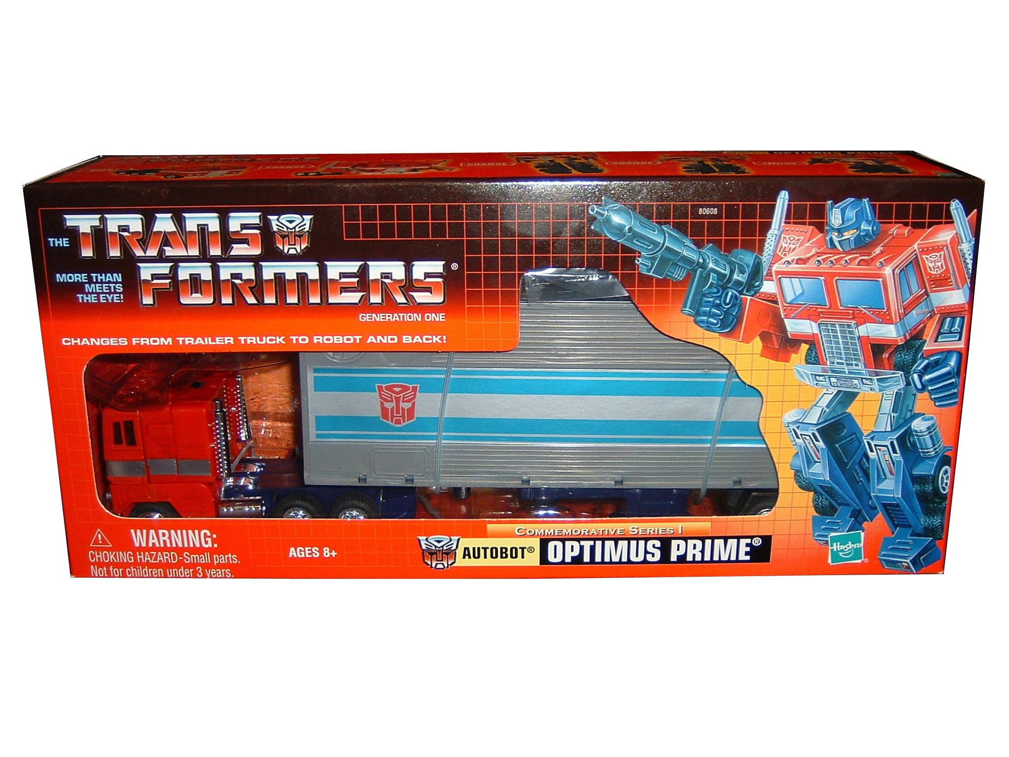 2002 Transformers Commemorative Series G1 Optimus Prime Sealed
