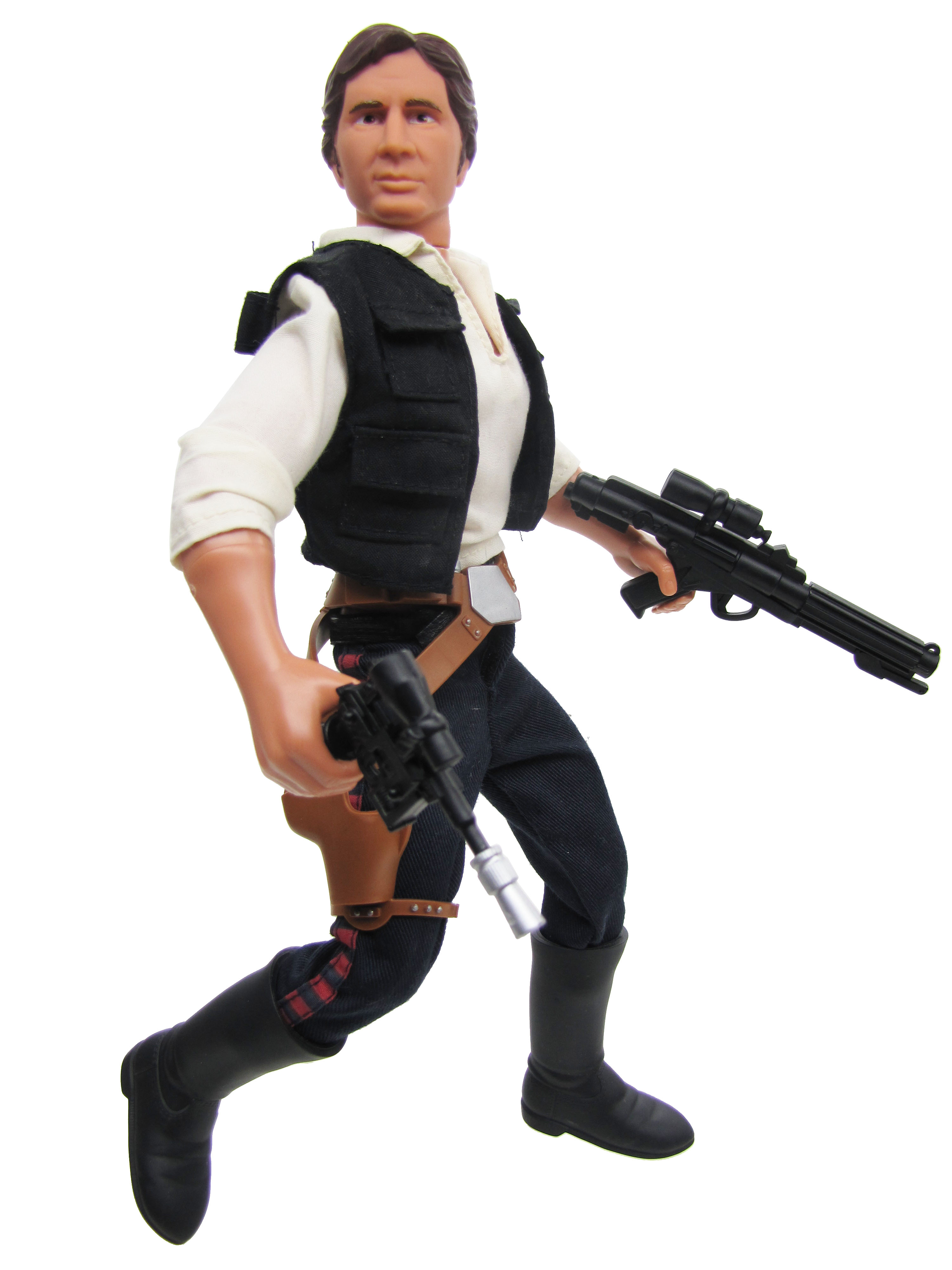 "Star Wars POTF2 12"" A New Hope Han Solo Complete"