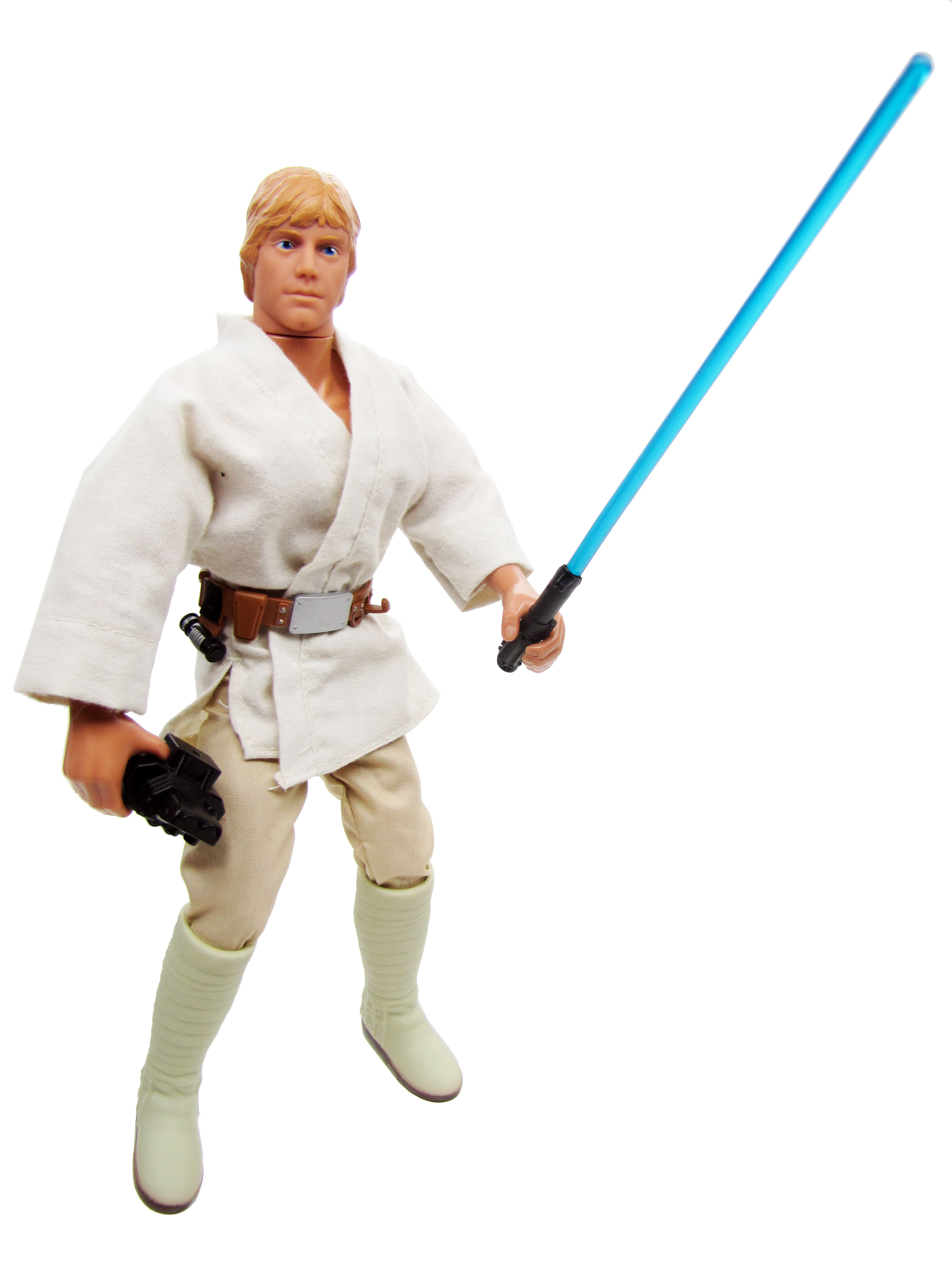 "Star Wars POTF2 12"" A New Hope Luke Skywalker Complete"