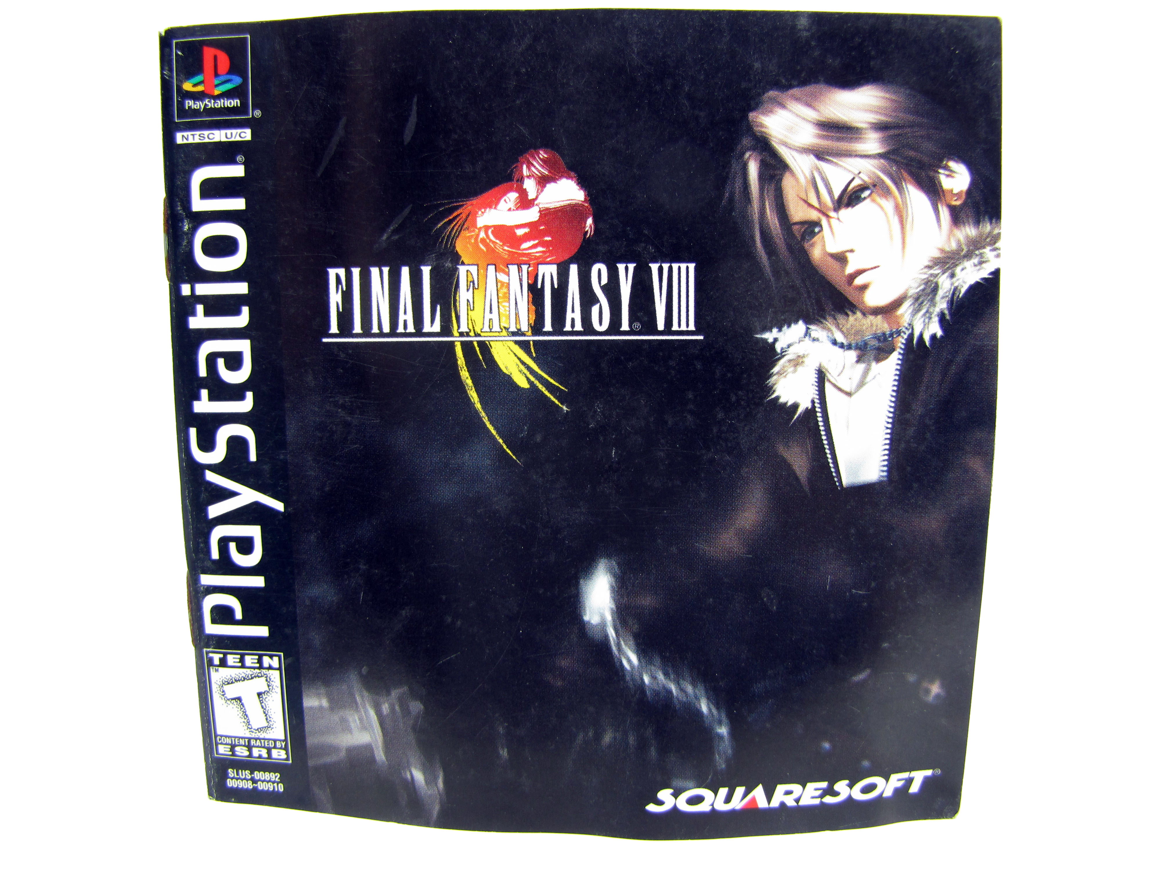 PS1 Final Fantasy VIII Instruction Booklet - 1999