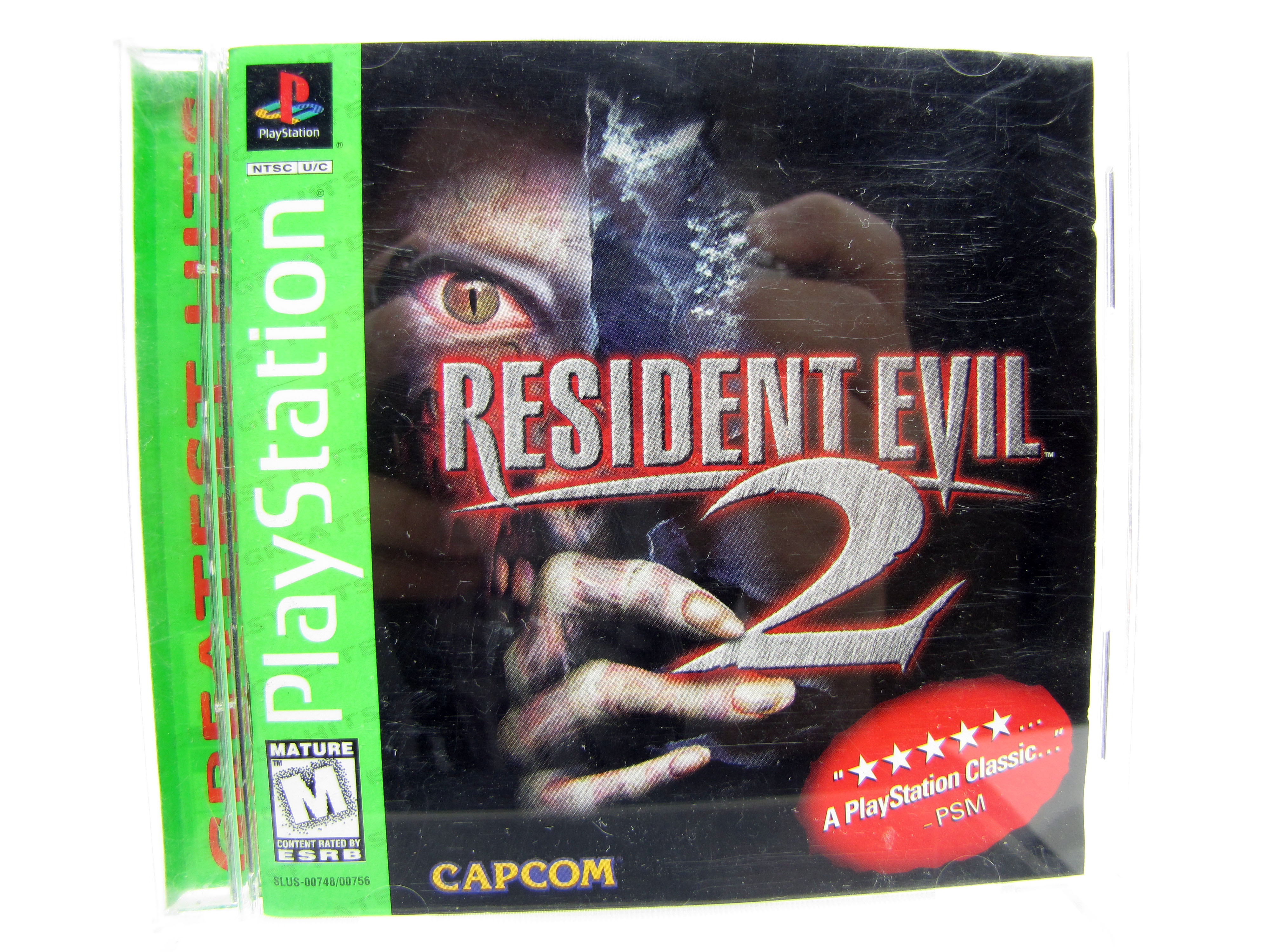 PS1 Resident Evil 2: Dual Shock Complete - 1998