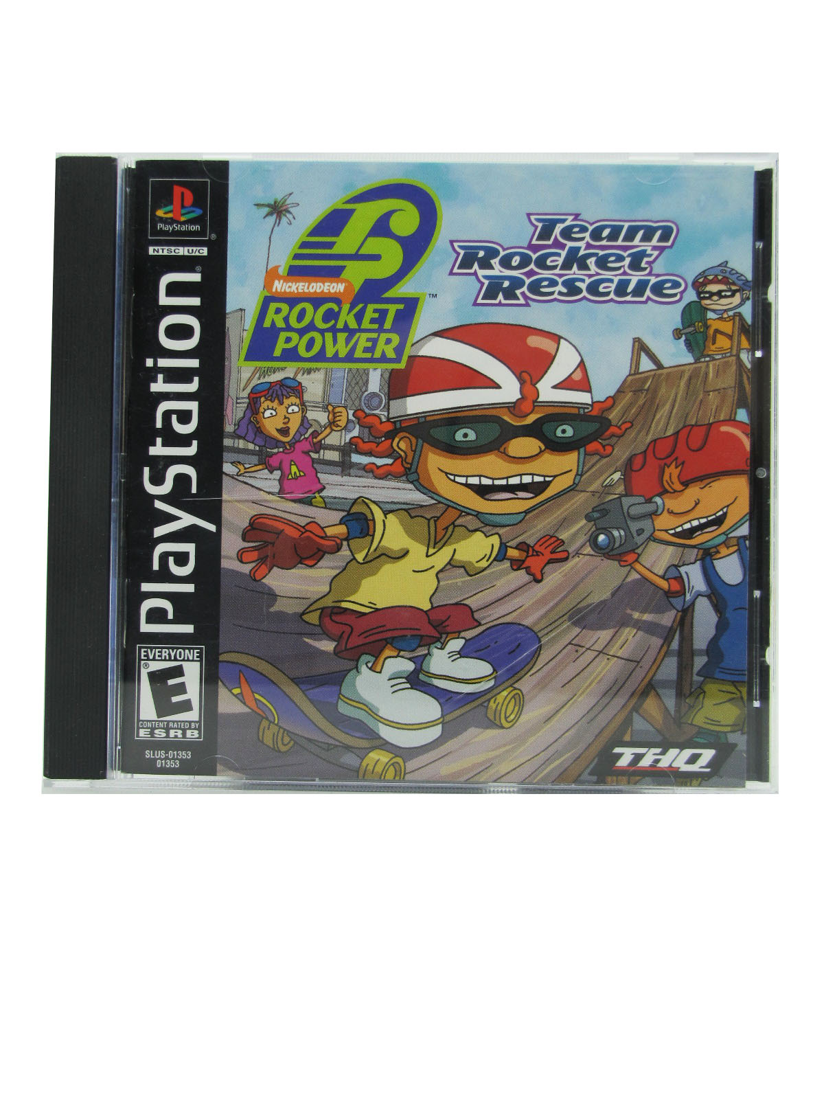 PS1 Rocket Power: Team Rocket Rescue Complete - 2001