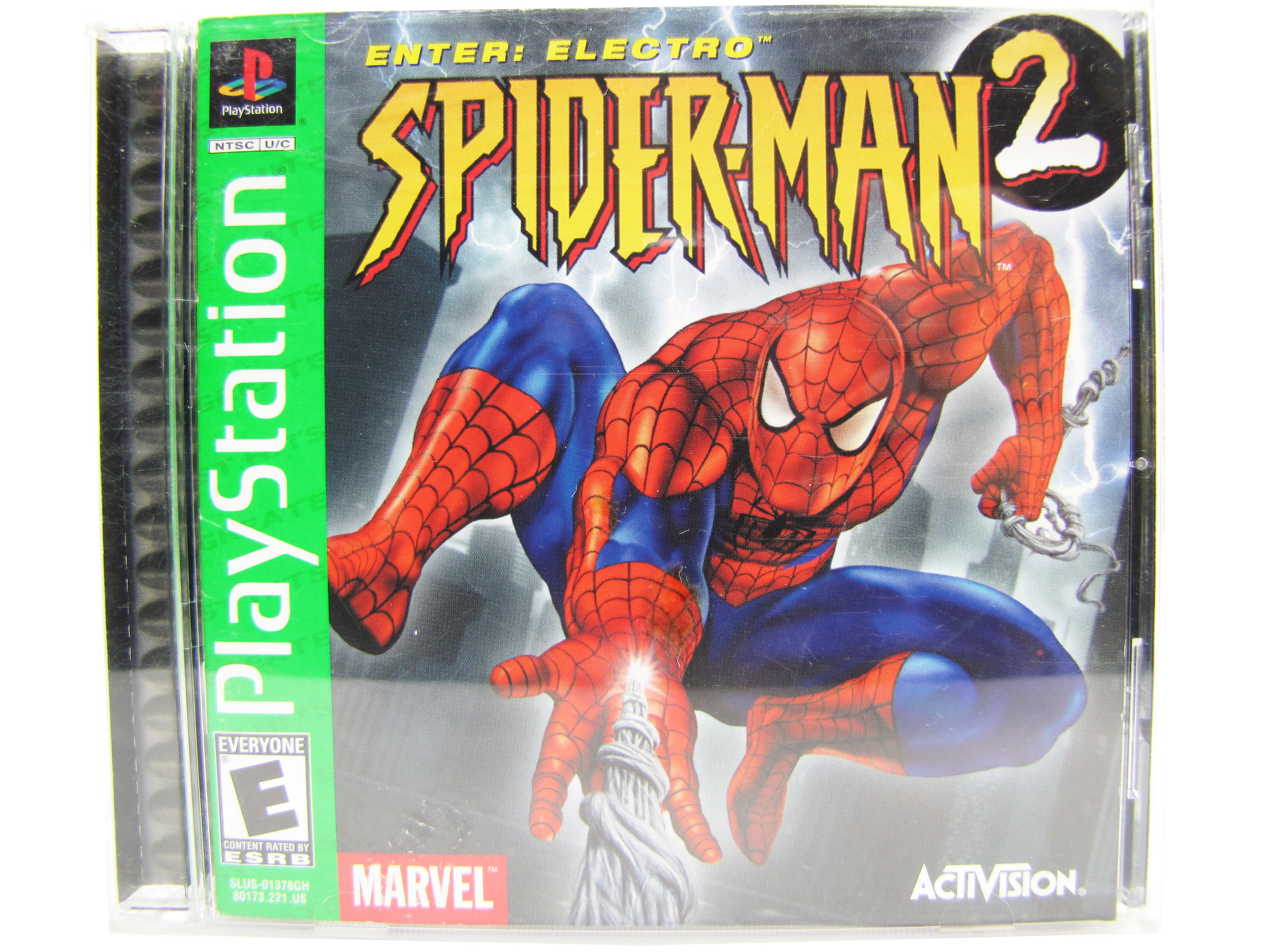 PS1 Spider-Man 2: Enter Electro Complete - 2001