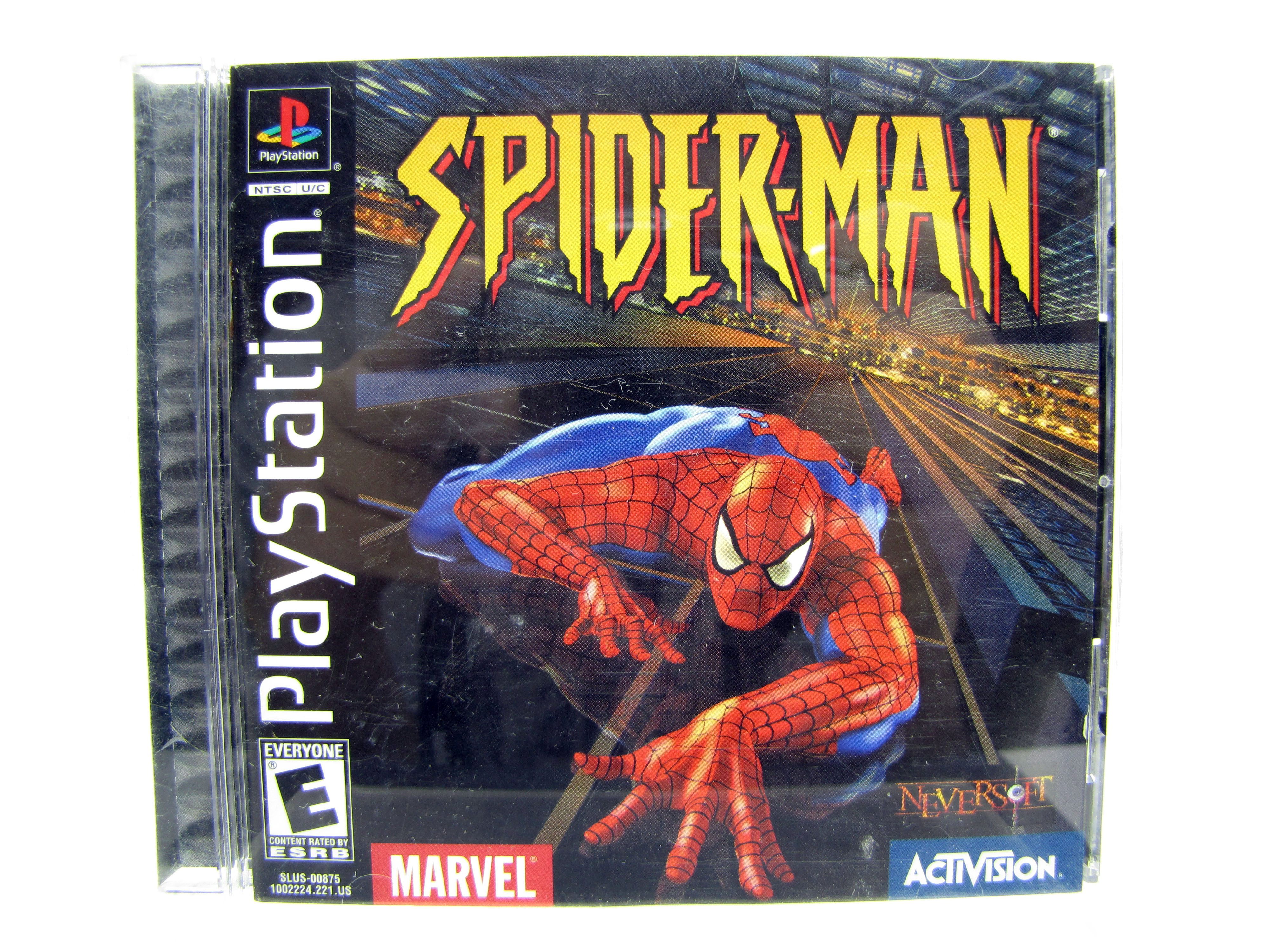 PS1 Spider-Man Complete - 2000