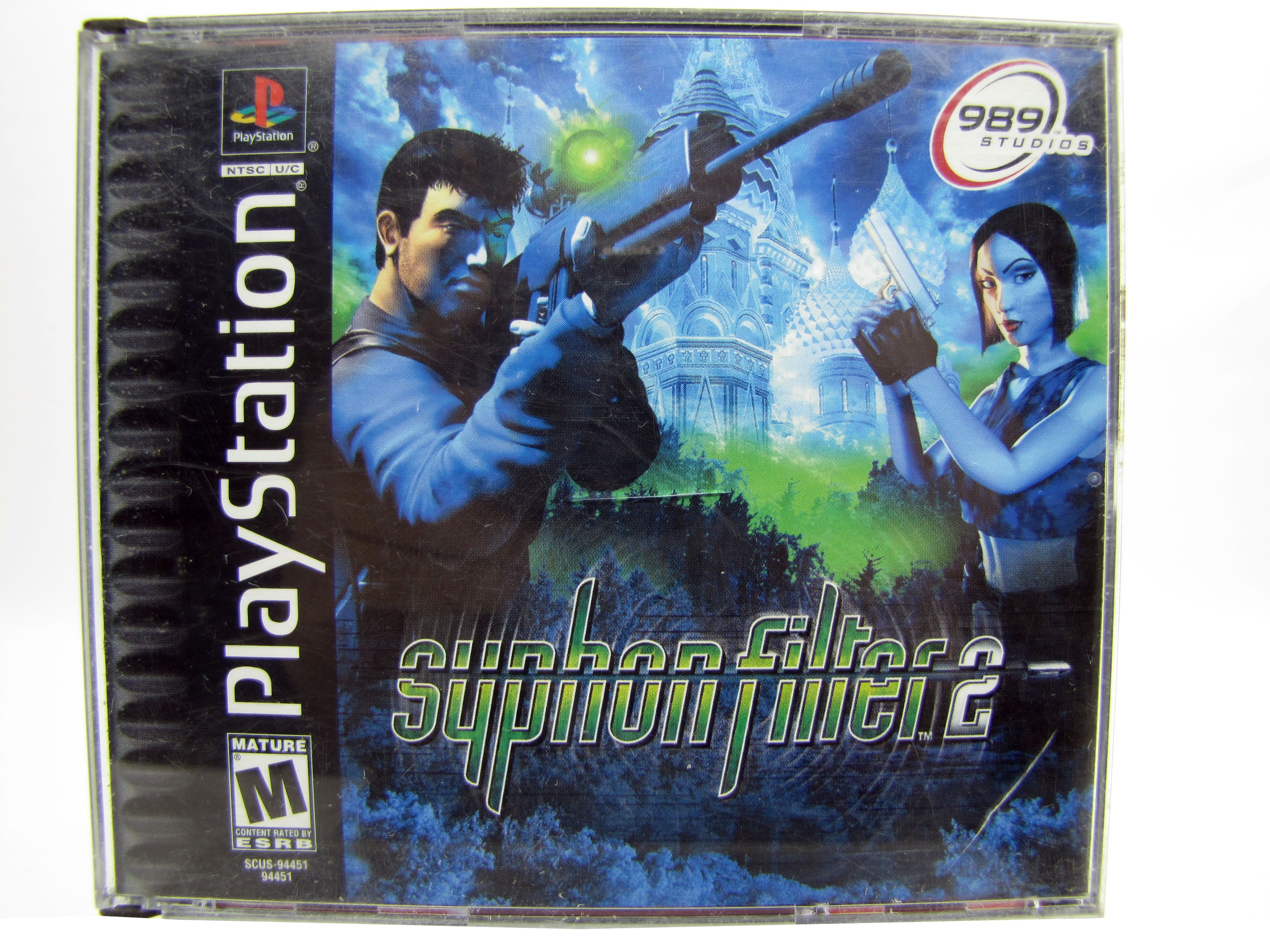PS1 Syphon Filter 2 Complete - 2000