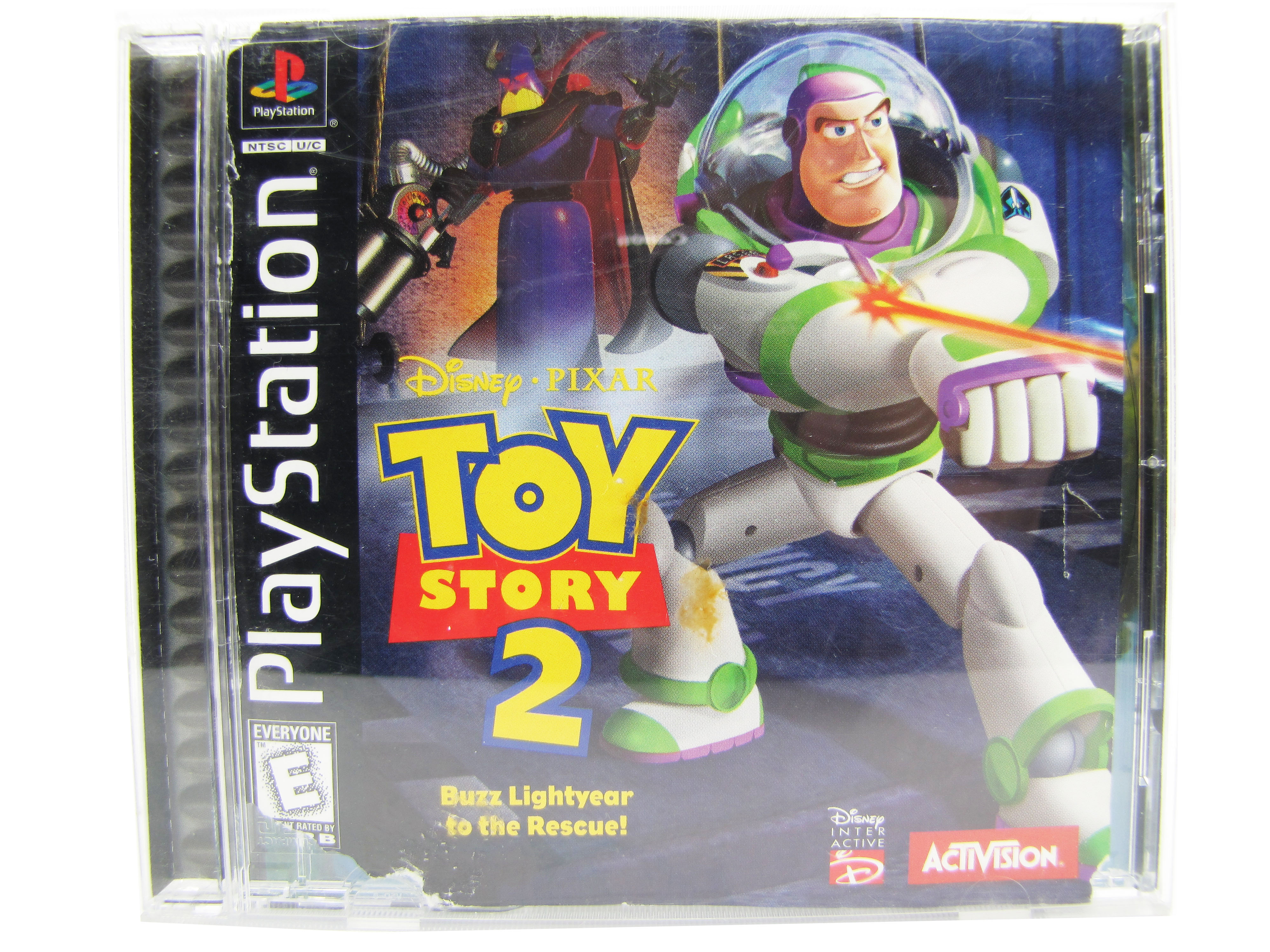PS1 Toy Story 2: Buzz Lightyear to the Rescue! Complete - 1999