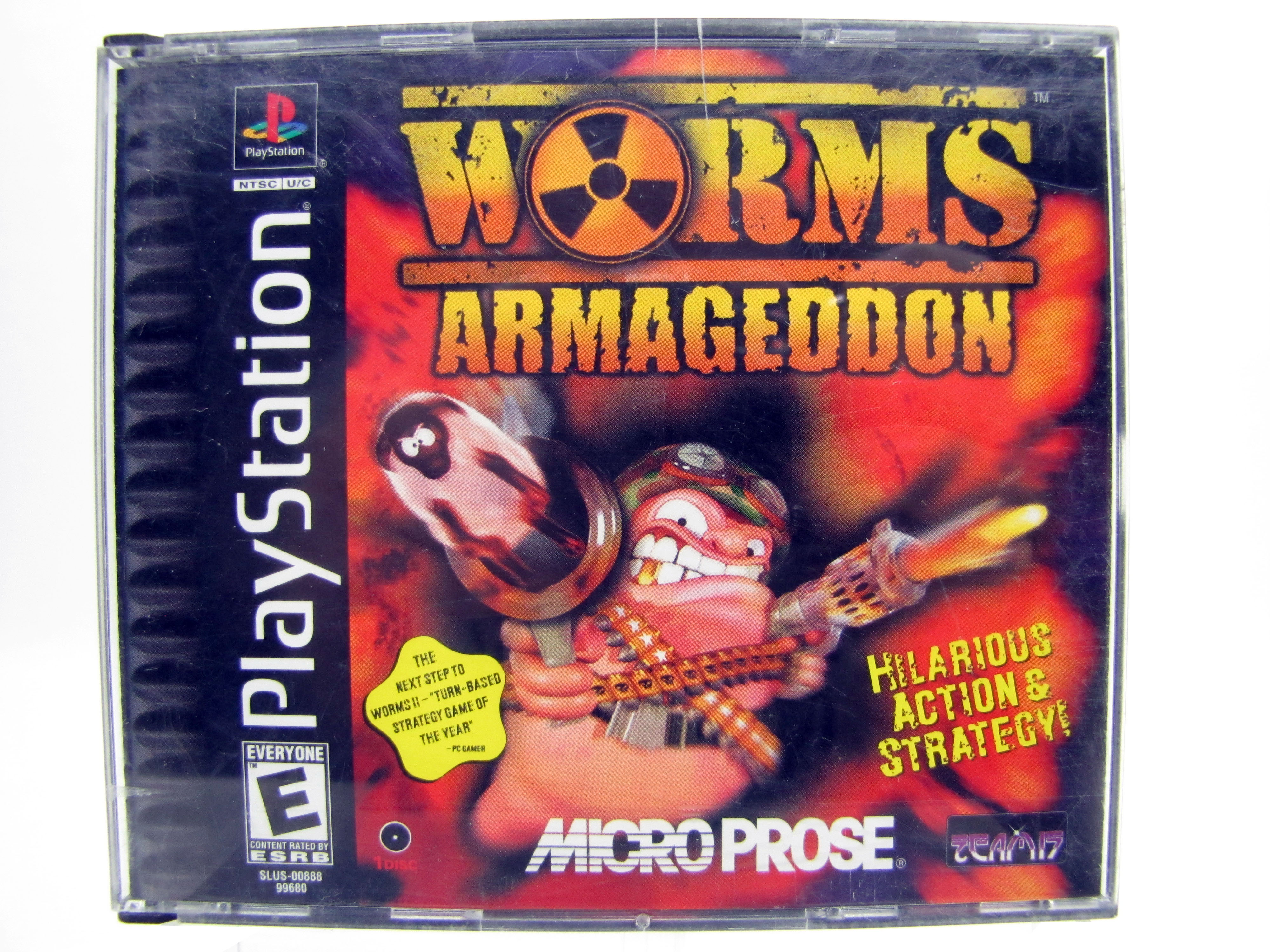 PS1 Worms: Armageddon Complete - 1999