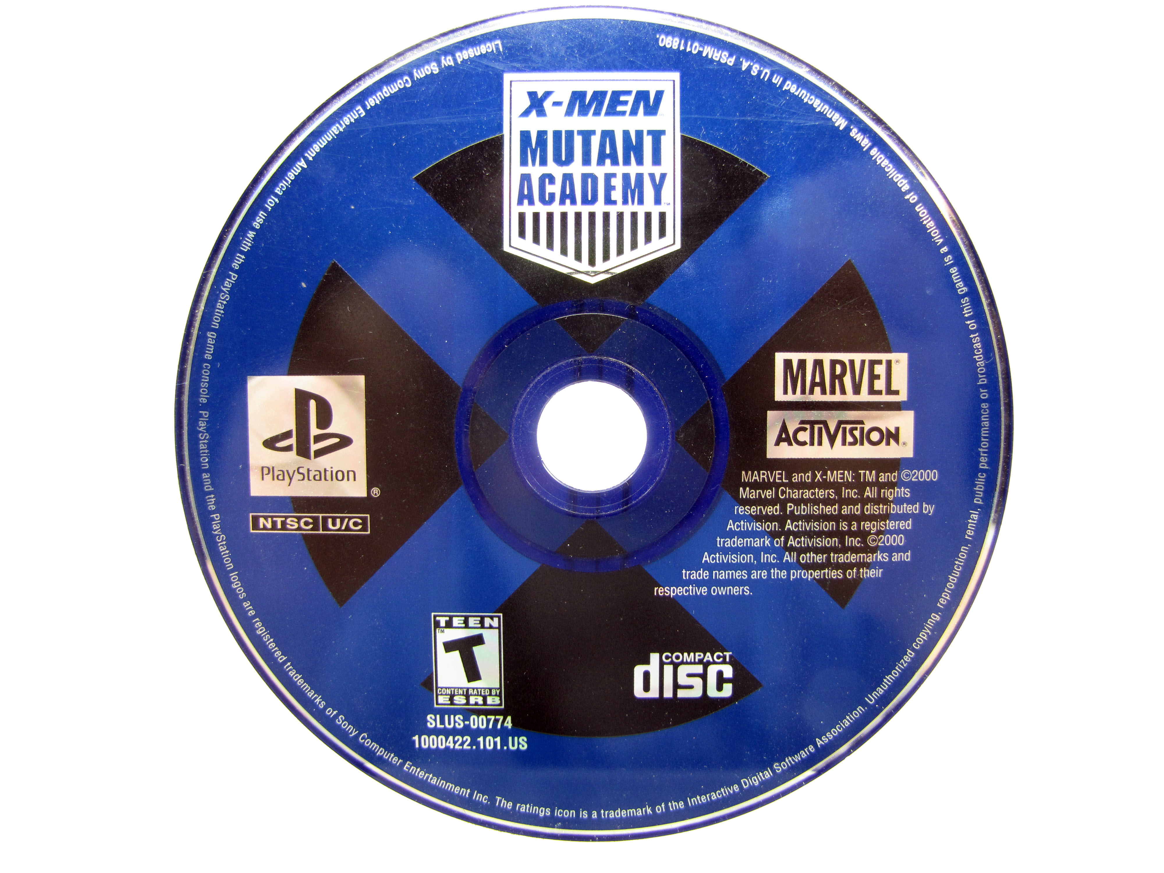PS1 X-Men: Mutant Academy Disc Only - 2003