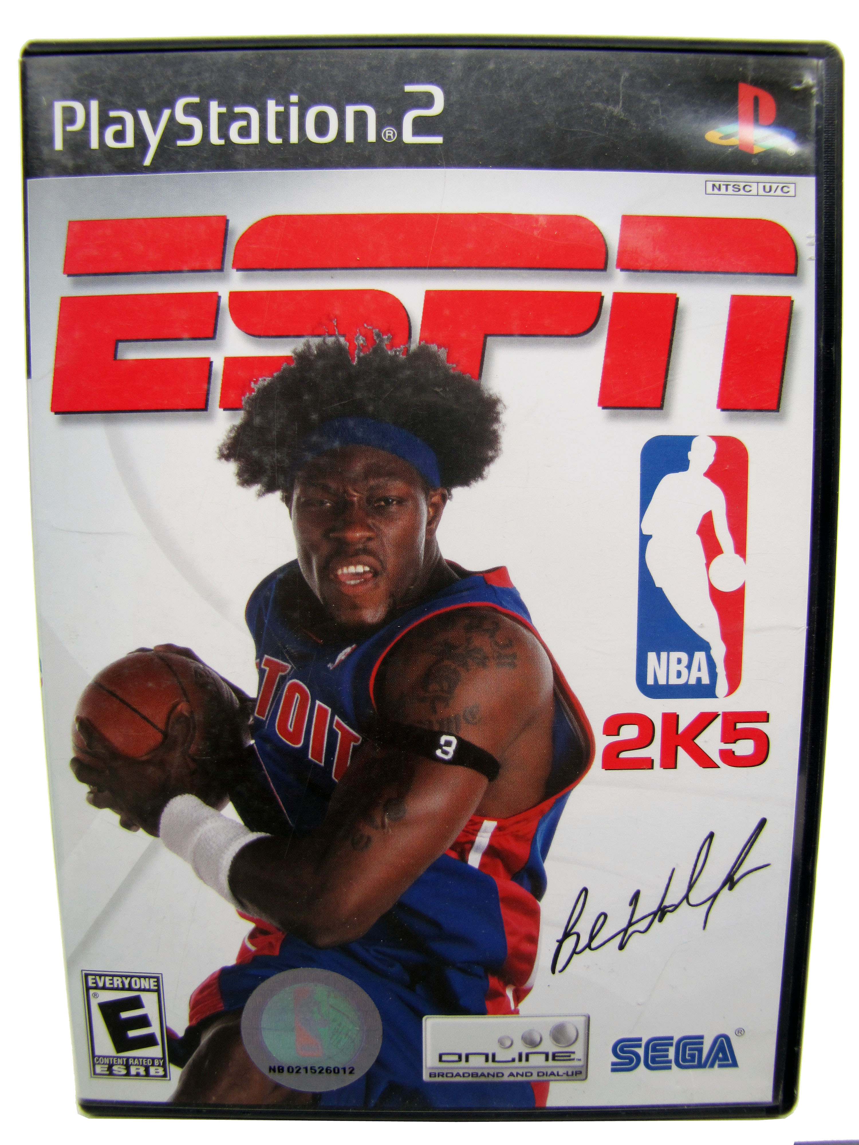 PS2 ESPN NBA 2K5 Complete - 2004