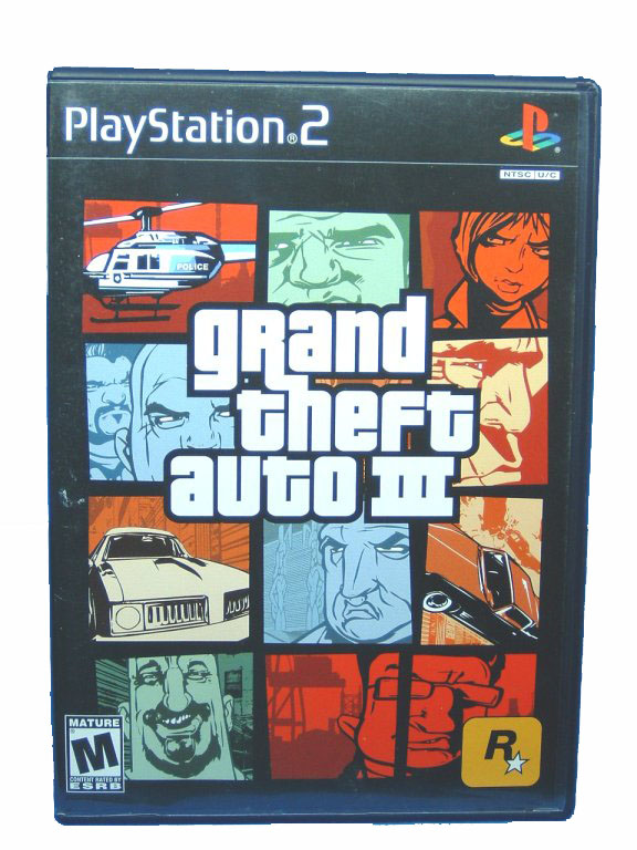 PS2 Grand Theft Auto III Complete - 2001