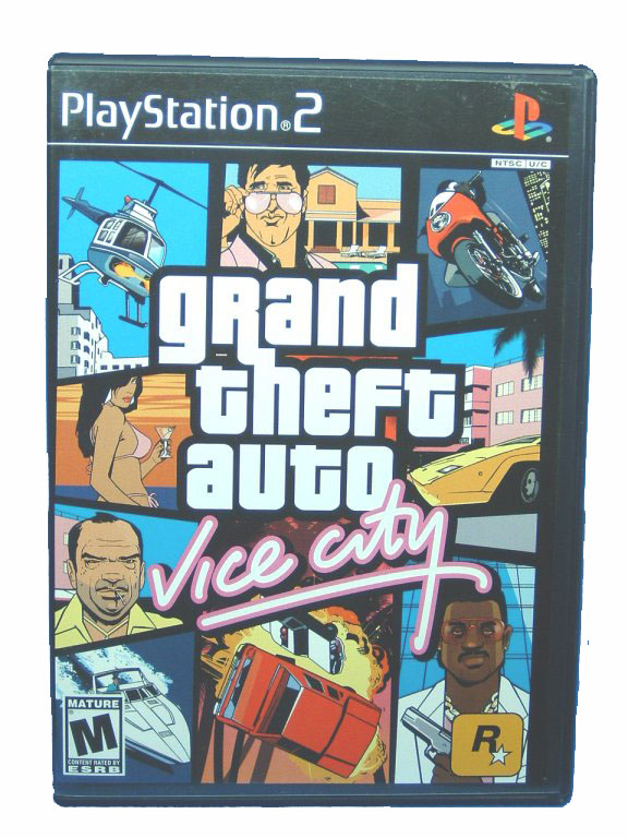 PS2 Grand Theft Auto: Vice City Complete - 2002
