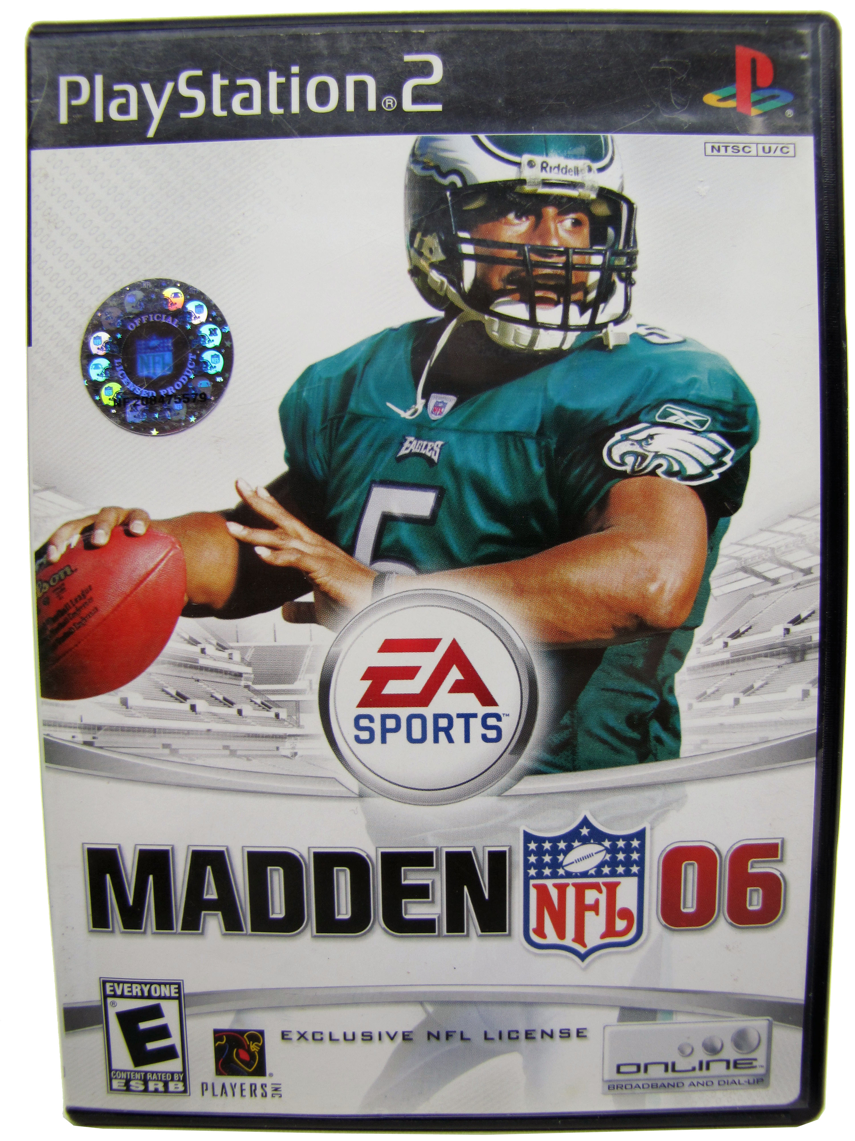PS2 Madden NFL '06 Complete - 2002