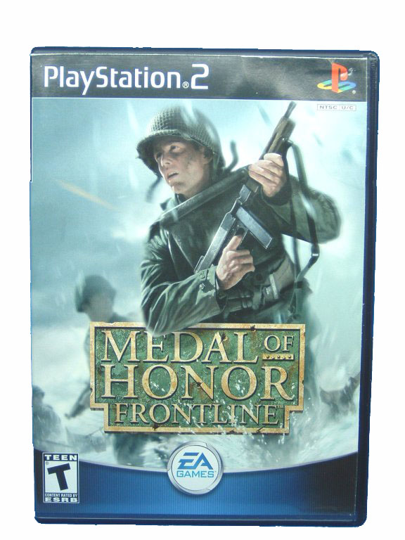 PS2 Medal of Honor: Frontline Complete - 2002