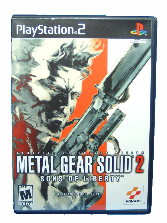 PS2 Metal Gear Solid 2: Sons of Liberty Complete -  2001