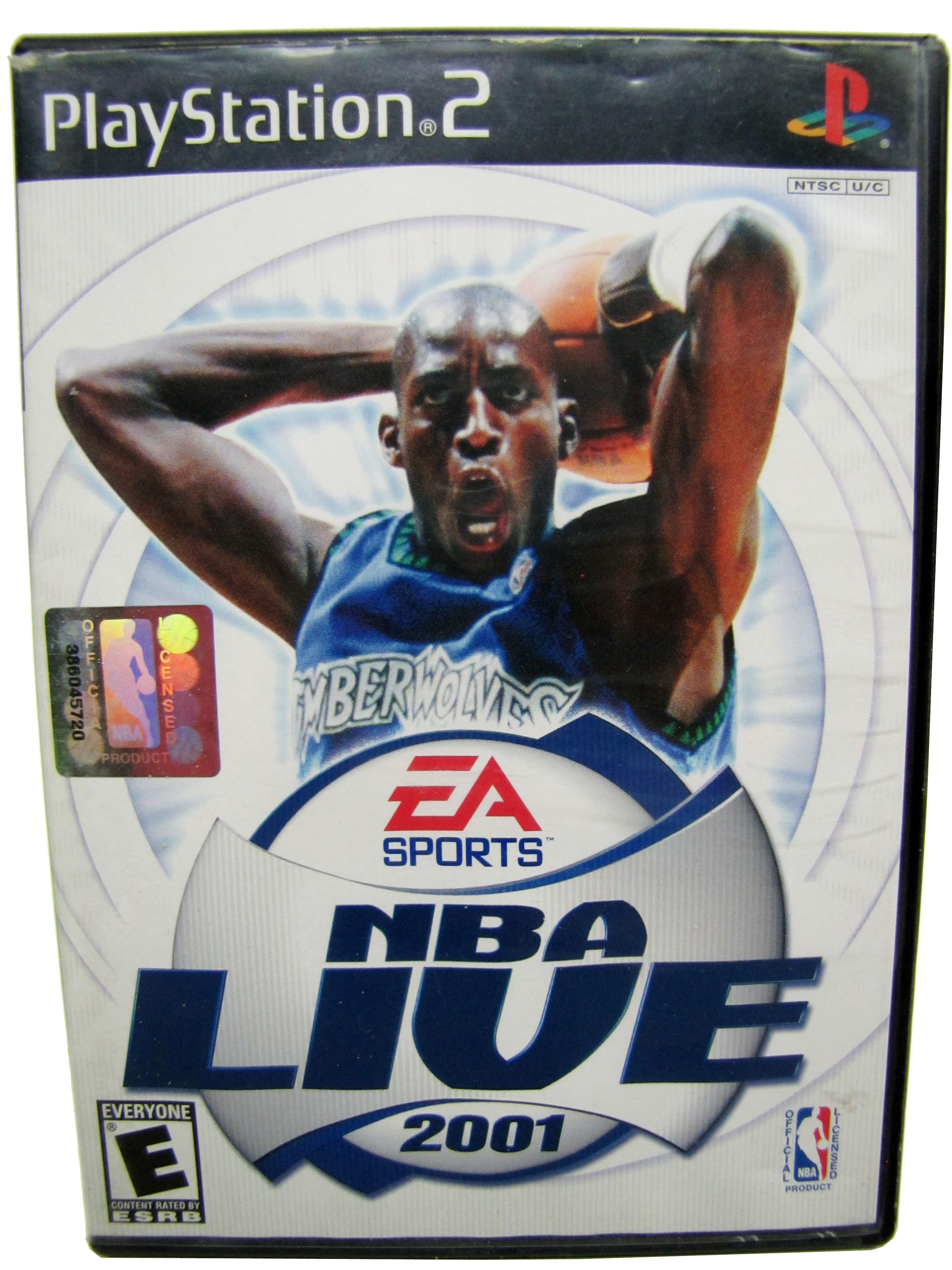 PS2 NBA Live 2001 Complete - 2001