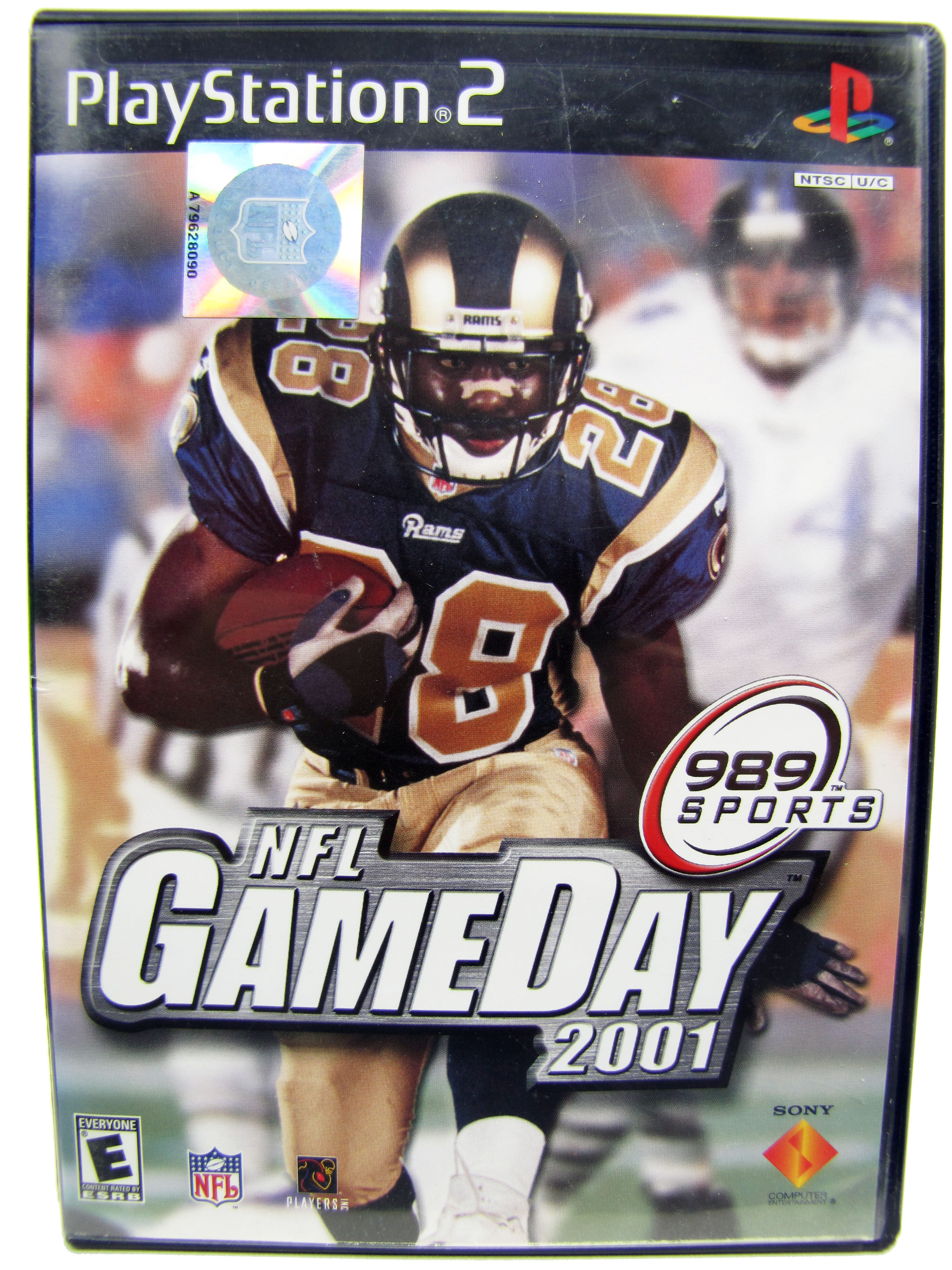 PS2 NFL GameDay 2001 Complete - 2000