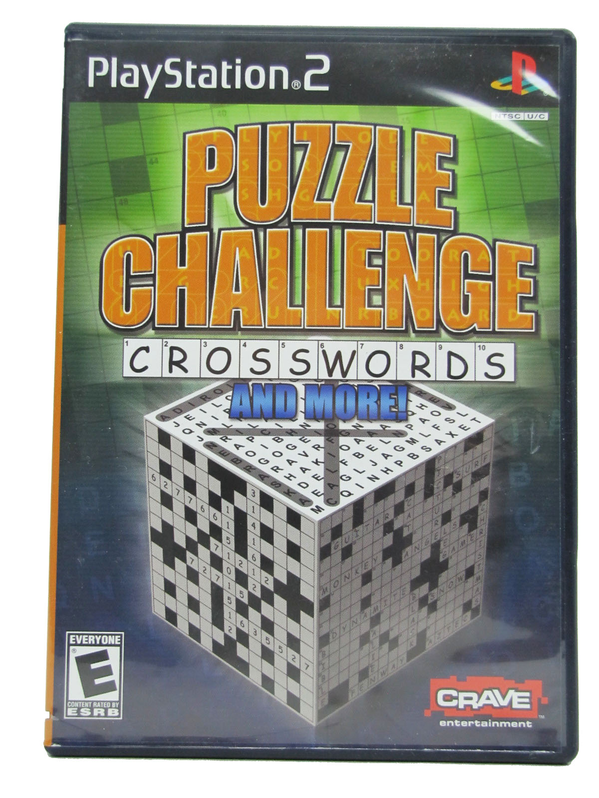 PS2 Puzzle Challenge: Crosswords and More! Complete - 2006