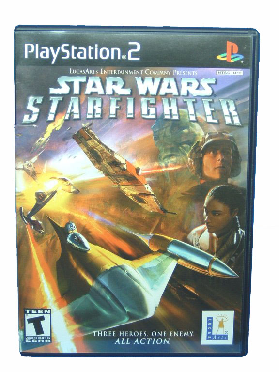 PS2 Star Wars: Starfighter Complete - 2002