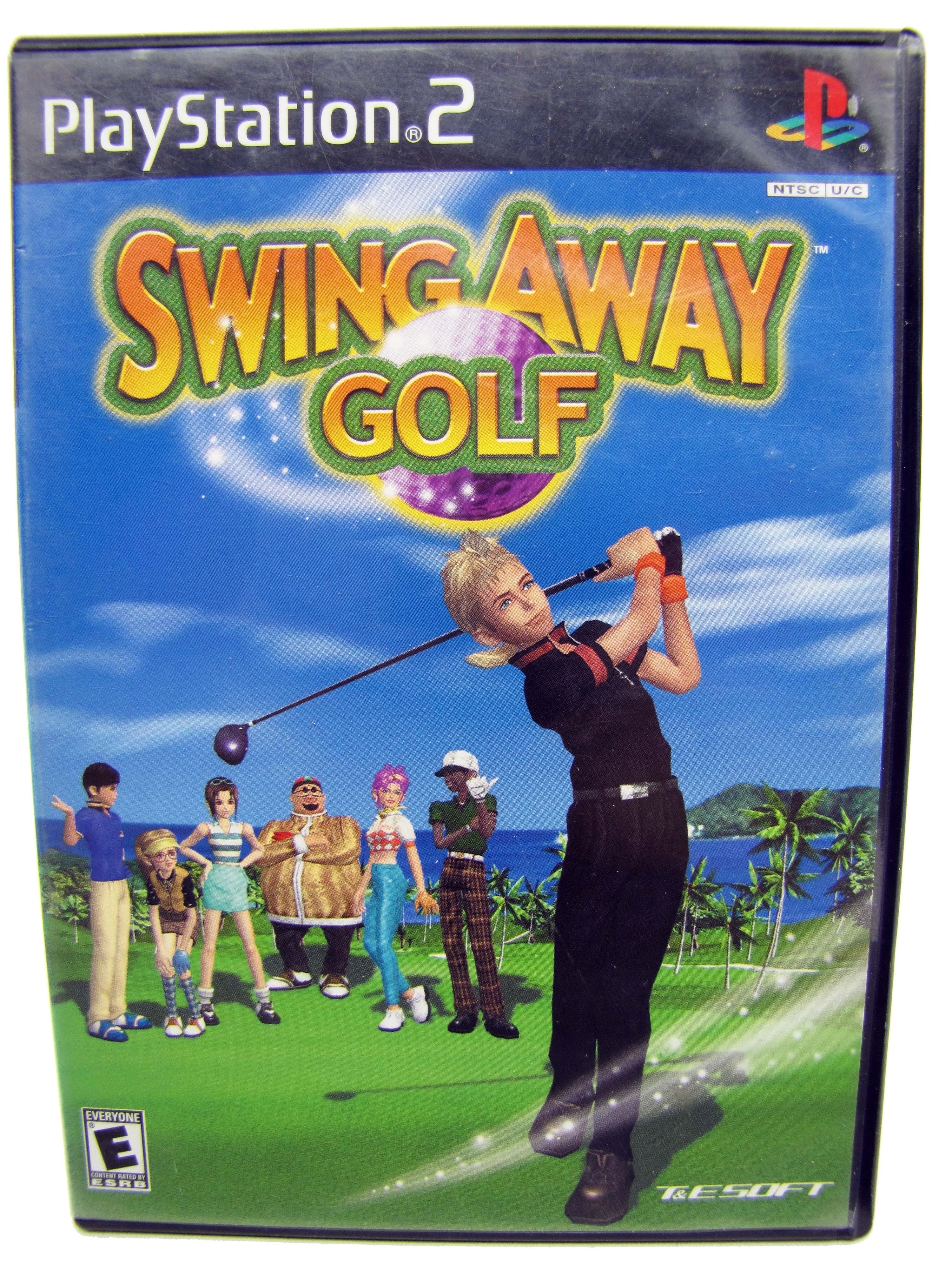 PS2 Swing Away Golf Complete - 2000