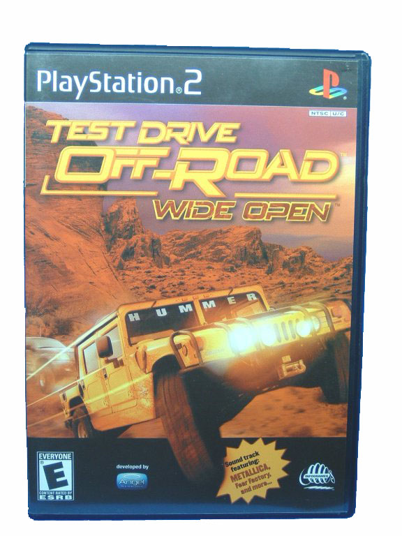 PS2 Test Drive Off-Road: Wide Open Complete - 2001