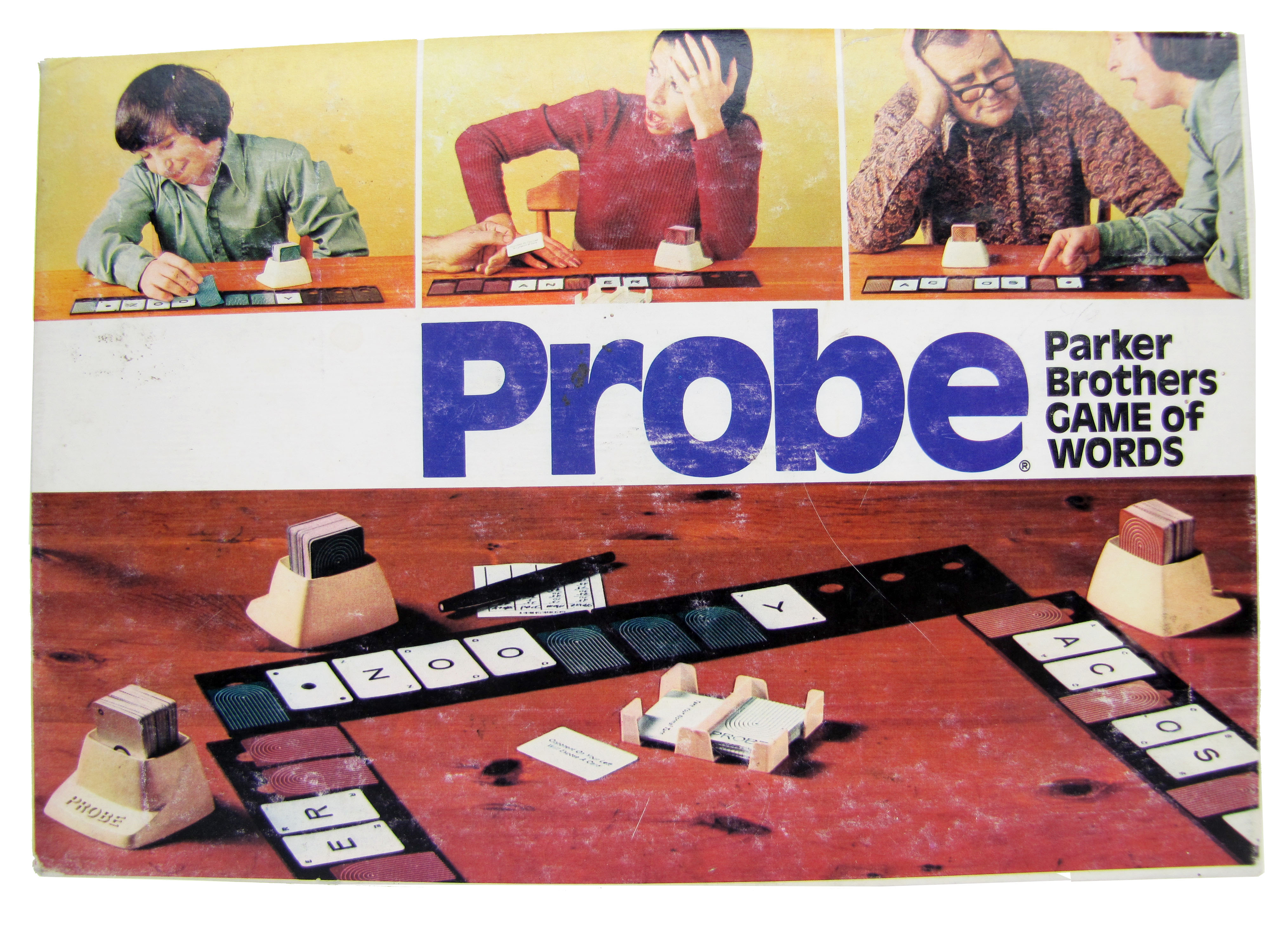 1974 Parker Brothers Probe Board Game Complete