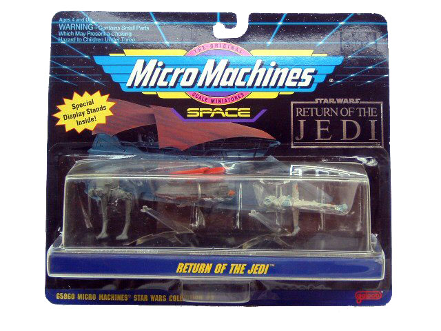 Star Wars Micro Machines Return of the Jedi Collection 3 Sealed