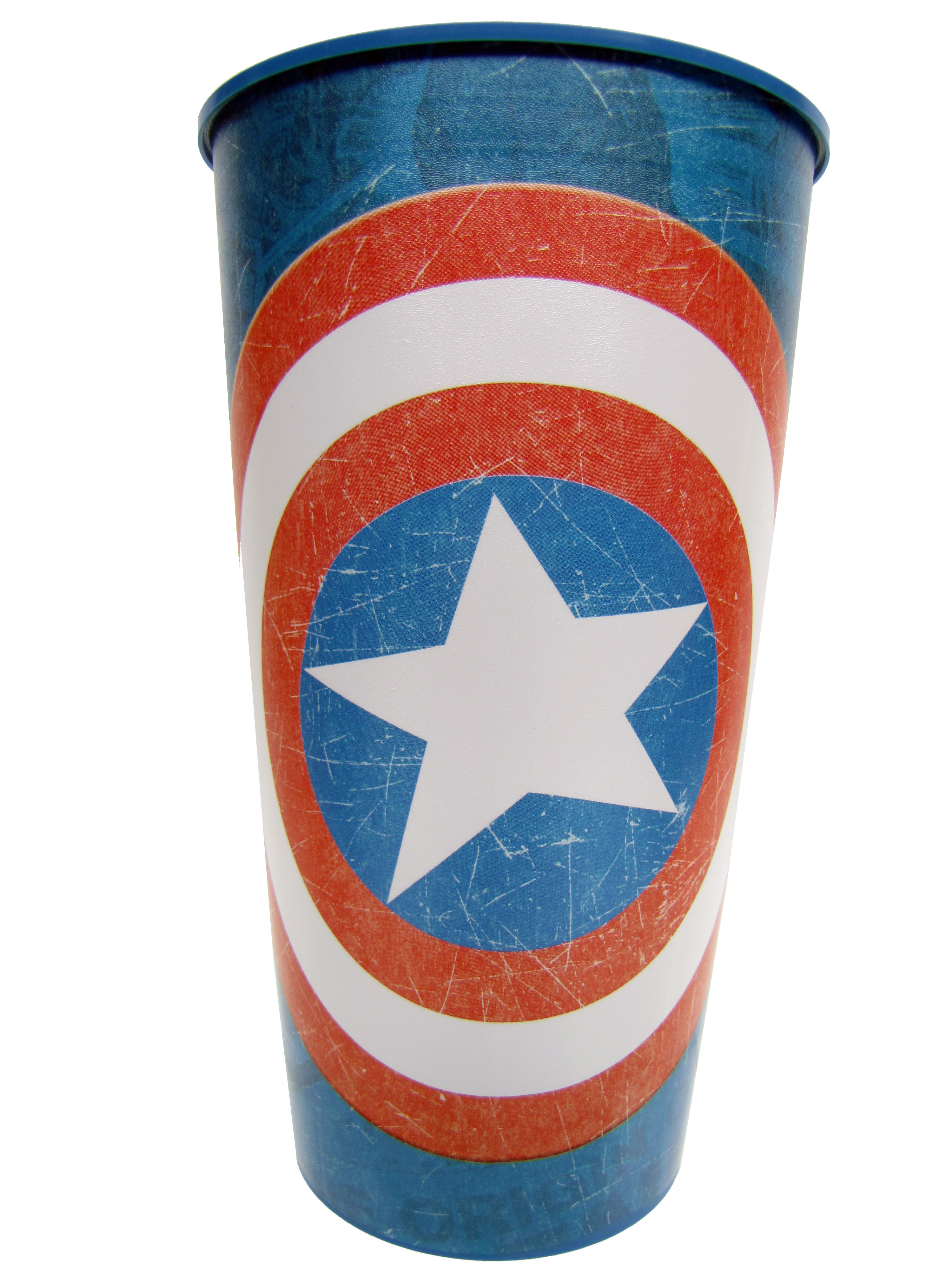 Retro Captain America Party Cup