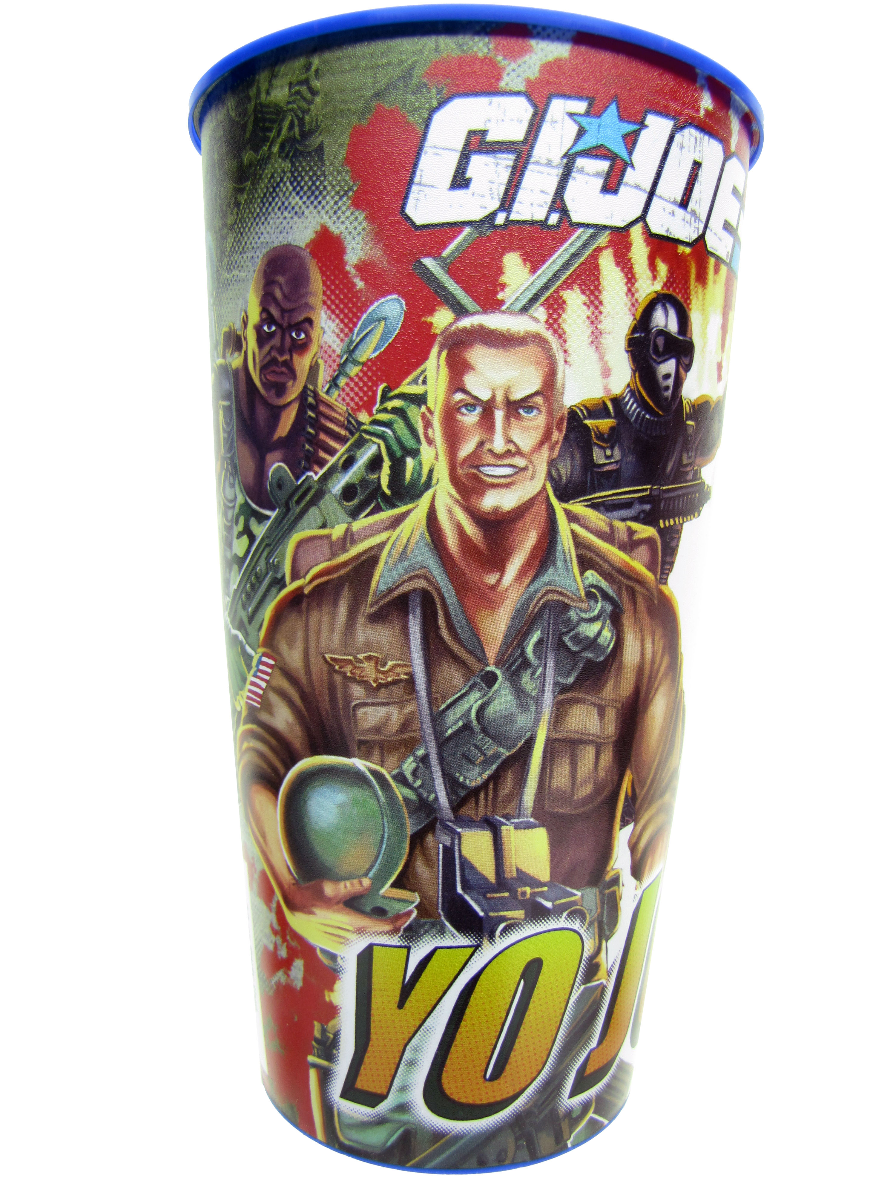 Retro GIJoe A Real American Hero Party Cup