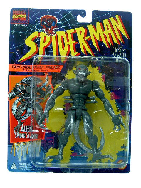 Spider-Man Animated Series Alien Spider Slayer MOC