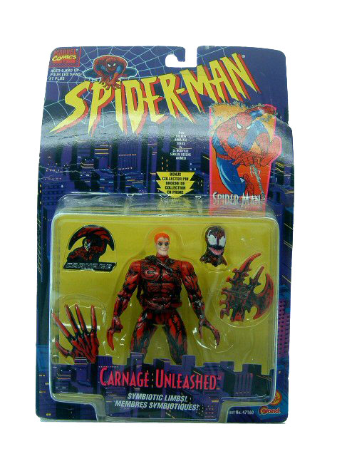 Spider-Man Animated Series Carnage Unleashed Sealed