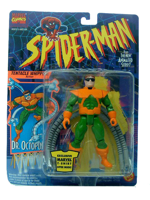 Spider-Man Animated Series Dr. Ocotopus Sealed