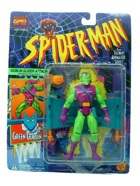Spider-Man Animated Series Green Goblin Sealed
