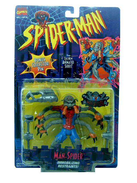 Spider-Man Animated Series Man-Spider Sealed